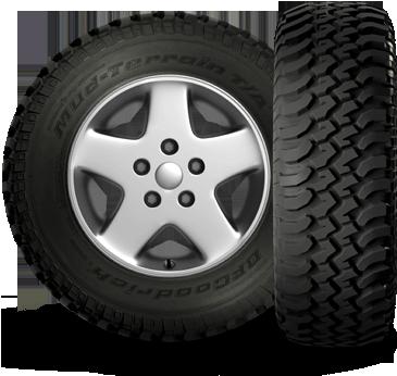 Mud Terrain-T/A KM Tires